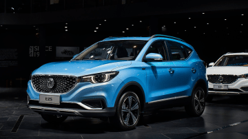 MG reveals eZS electric SUV