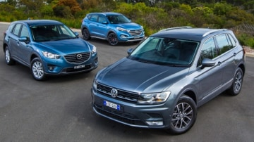Volkswagen boss Michael Bartsch believes his products are superior to that offered by Mazda or Hyundai.