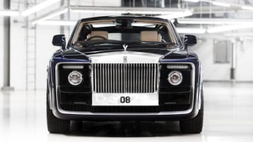 Rolls-Royce built the Sweptail coupe for a particularly discerning customer.
