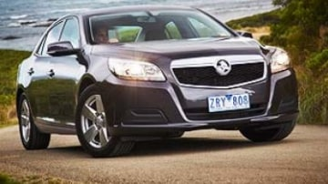 The next foundation in Holden's renovated product lineup has been laid with the arrival of the Malibu mid-sized sedan.