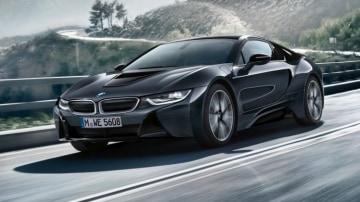 BMW i8 Protonic Dark SIlver at 2016 Paris motor show.