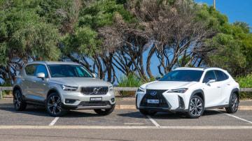 Head to Head: Volvo XC40 v Lexus UX