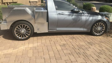 Hyundai Genesis Ute Is The Plush Workhorse You Never Knew You Needed