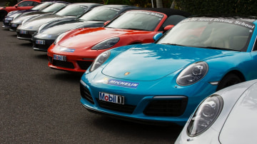 Porsche sport driving school.