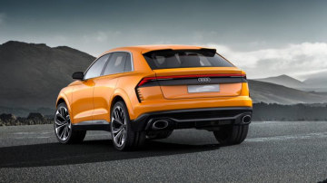 The new performance SUV is expected to wear the SQ8 badge when it goes into production.
