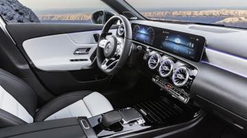 2018 Mercedes-Benz A-Class.