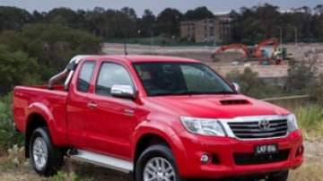 Toyota HiLux updated