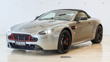 Aston Martin V8 Vantage limited edition for auction