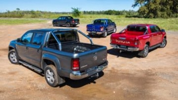 Which is the best dual-cab ute: Volkswagen Amarok V6 Highline, Ford Ranger XLT, Toyota HiLux SR5 and Holden Colorado Z71.