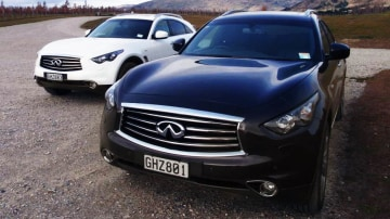 2012 Infiniti FX37 And FX50 Preview Drive