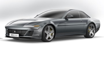 Ferrari GTC4Lusso reborn as 412 homage