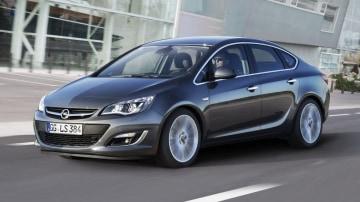 2013 Opel Astra Sedan Revealed, Australian Debut Unclear
