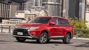 Mitsubishi's Outlander Exceed is a family-friendly package.