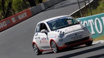 Fiat 500 shakedown run at Bathurst