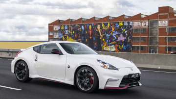 Nissan's 370Z Nismo offers raw driving thrills.