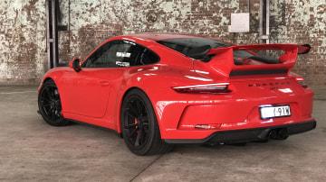 2018 Porsche 911 GT3.