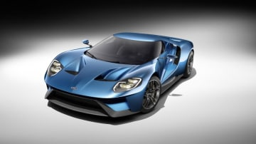 The all-new, carbon-fiber, mid-engined Ford GT supercar, expected to go into production in 2016, will redefine innovation in aerodynamics, EcoBoost and light-weighting. 2016 Ford GT supercar