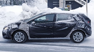 Spy photographers have snapped the new Kia Cerato during testing: Source: Automedia.