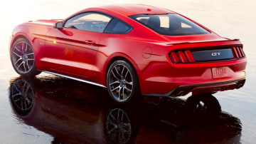 2015 Ford Mustang.