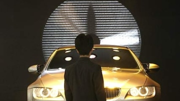 BMW was cagey about its M3 Concept.