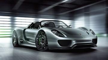 Porsche 918 Spyder Plug-In Hybrid Concept Revealed Ahead Of Geneva