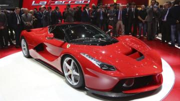 LaFerrari on display at the 2013 Geneva motor show. Source: Reuters