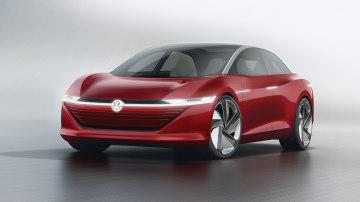 2018 Volkswagen I.D. Vizzion concept revealed