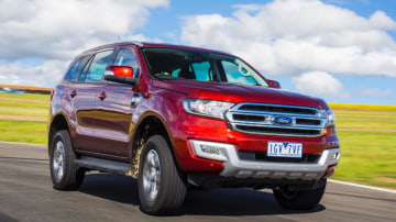 Drive 2017 Best 4WD Ford Everest Trend 4WD