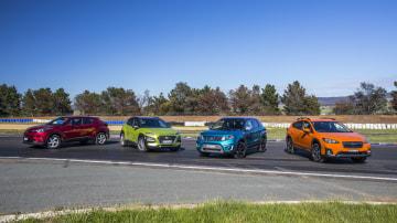 Drive 2017 Best City SUV group shot