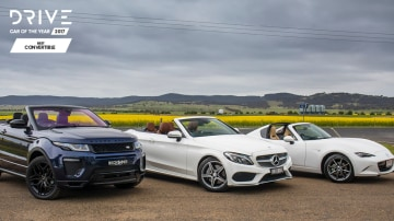 Drive 2017 Best Convertible group shot