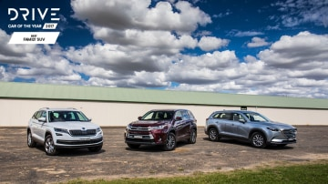 Drive 2017 Best Family SUV group shot