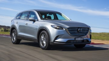 Drive 2017 Best Family SUV Mazda CX-9 Touring front exterior