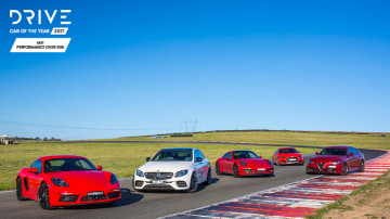 Drive 2017 Best Performance Car Over $60k group shot