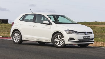 Drive 2018 Best City Car Volkswagen Polo 77TSI front exterior