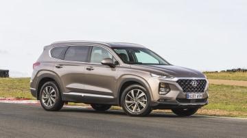 Drive 2018 Best Family SUV Hyundai Santa Fe Elite front exterior