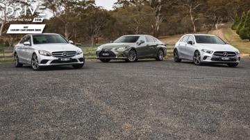 Drive 2018 Best Luxury Car Under $80k group shot