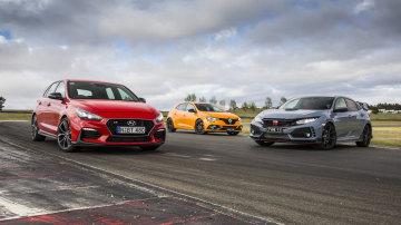 Drive 2018 Best Performance Car Under $60,000 group shot