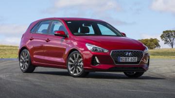 Drive 2018 Best Small Car Hyundai i30 SR front exterior