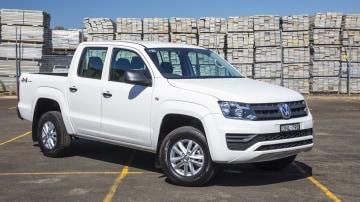 Drive 2019 Best 4x4 Work Ute Volkswagen Amarok V6 Core front exterior