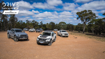 Drive 2019 best recreational ute group