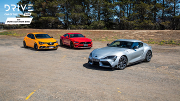 Drive Best Sports Car Under $100k 2020 finalists group photo