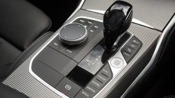 Drive Car of the Year Best Medium Luxury Car 2021 finalist BMW 3 Series interior gear stick