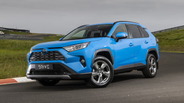 Drive Car of the Year Best Medium SUV 2021 finalist Toyota Rav 4 front exterior view