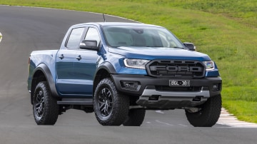 Drive Car of the Year Best Off-Road SUV 2021 finalist Ford Ranger Raptor front exterior view