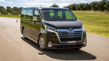 Drive Car of the Year Best People Mover 2021 finalist Toyota Granvia front view