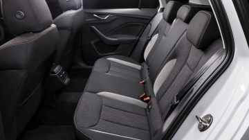 Drive Car of the Year Best Small SUV 2021 finalist Skoda Kamiq interior rear seating