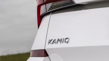 Drive Car of the Year Best Small SUV 2021 finalist Skoda Kamiq rear label close-up