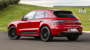 Drive Car of the Year Sports Performance SUV 2021 finalist Porsche Macan GTS rear exterior view