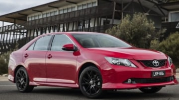 Toyota updates Aurion