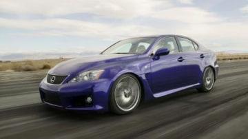 Lexus IS-F Fifth Gear video